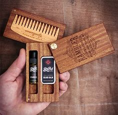 Big Red Beard Combs Rambler--