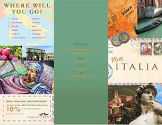 Great Travel Brochure Examples Fit For Globetrotters  Brochure