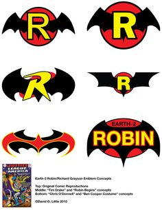 Earth 2 Robin symbols