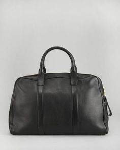 I wish: Tom Ford Buckley Leather Duffel Bag, Small - Neiman Marcus