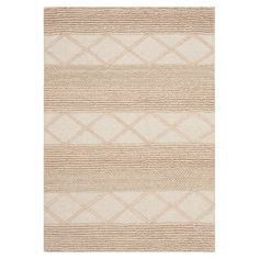 Anchor your living room seating group or define space in the den with this handcrafted wool rug, featuring tonal stripes.   Product...