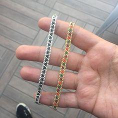 Diy bracelet 656188608190753946 - # Lederarmband – Source by Seed Bead Bracelets Tutorials, Making Bracelets With Beads, Loom Bracelet Patterns, Beaded Bracelets Tutorial, Bead Loom Patterns, Woven Bracelets, Handmade Bracelets, Beading Patterns, Stretch Bracelets