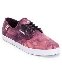 Zumiez Exclusive - Emerica X Altamont Wino Purple Tie Dye Shoe Tie Dye  Shoes 490f1d3ec51