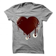 CHOCOLATE HEART MELTING T-SHIRTS, HOODIES (19$ ==► Shopping Now) #chocolate #heart #melting #shirts #tshirt #hoodie #sweatshirt #giftidea