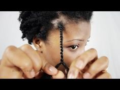 Senegalese Twist / Rope Twists Step By Step Tutorial Part 2 - YouTube