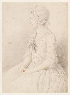 A Girl Seated, Sir Nathaniel Dance-Holland, ca. 1780; TC T08165