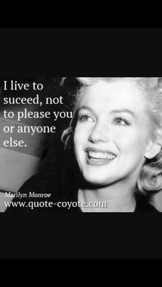 One of Marilyn Monroe's best quotes