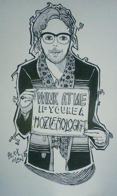 Great fan art by Alex Dacanay Olan! Hozier 24/7