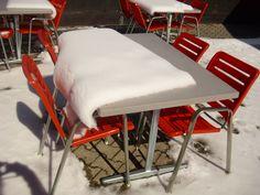 Snow Table Clothes, Pilatus Restaurant