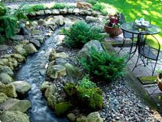 Do you have a stream or drainage ditch on or next to your property? Wondering what kind of plantings would look good there, while preventing erosion and protecting water quality? Here are some helpful tips.