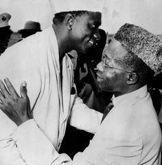Senghor & Sekou Toure.