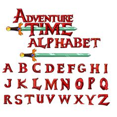 ADVENTURE TIME FONT