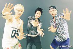 Luhan, Suho, and Sehun ♡