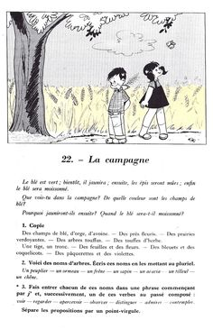 Manuels anciens: Comment rédiger ? CE-CM (Beaudouin, Groisard) French Lessons, English Lessons, French Phrases, One Liner, Learn French, Comprehension, Book 1, Teaching, Activities