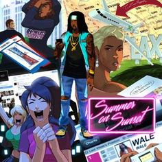 """new tape by rapper WALE check out """"summer on sunset"""" via http://www.rap-instrumentals.net/wale-summer-on-sunset-new-mixtape-download-streaming-tracklist/"""