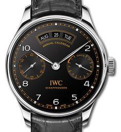 "IWC Portugieser Annual Calendar Edition ""Pisa"" Watch Dial"