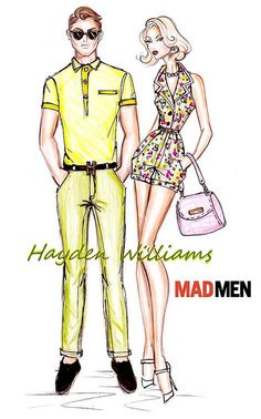 Hayden Williams for Mad Men collection by Fashion_Luva, via Flickr