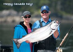Happy Canada Day! Great weather and fishing in Haida Gwaii. http://www.peregrinelodge.com/blog.php?p=197