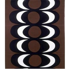 I'm not usually a fan of Marimekko, but when I got the money, I'm going to sew curtains from this brown Kaivo-fabric for my living room.