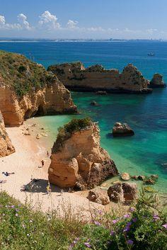 Praia de Dona Ana - Algarve Coast, Portugal