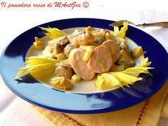 Un'insalata fresca veloce e gustosa? Insalata di  würstel, sedano e cipolline! Segui il link e scopri come l'ho preparata. http://ilpomodororosso.blogspot.it/2015/07/insalata-di-verdure-e-wurstel.html