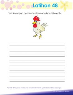 Aktiviti asas membaca Kindergarten Worksheets, Worksheets For Kids, Preschool Writing, Kids Learning, Education, Words, Wings, Kids Worksheets, Teaching
