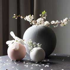Cooee Design maljakko, vaaleanharmaa 20 cm