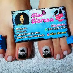 Pedicure Nails, Toe Nails, Toe Nail Designs, Nail Art Hacks, Finger, Instagram Posts, Toenails, Nail Bling, Work Nails