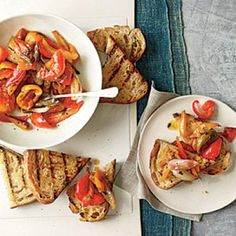 Summer Appetizer Recipes: Sweet and Spicy Pepperonata | CookingLight.com