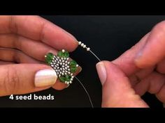 How to make Earrings 💞 – Seed Bead Tutorials Seed Bead Earrings, Beaded Earrings, Earrings Handmade, Handmade Jewelry, Beaded Bracelets, Diy Jewelry Unique, Jewelry Crafts, Beaded Jewelry Patterns, Beading Patterns