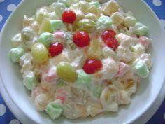 Christmas Salad - nieve de navidad - oh, esta es la ensalada que me decia la miss :)