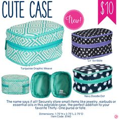 Thirty-One Cute Case - Spring/Summer 2017