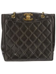 Chanel Vintage quilted tote bag