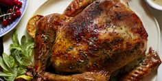 Oven management on the big day can be hectic, but dont stress. Bake your sides once the bird comes out of the oven. The turkey will stay warm for about an hour, leaving you plenty of time to finish cooking the meal.
