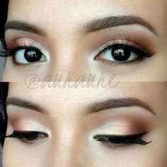 Subtle Romantic Eye Makeup