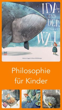 Ida and the flying whale - A picture book pearl! Great philosophy was prepared for children here. With wonderful illustrations - Parenting Books, Kids And Parenting, 4 Kids, My Children, Wal, Baby Kind, Kids Corner, Happy Baby, Children's Book Illustration