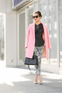 Pink Sherlock :: Cocoon coat