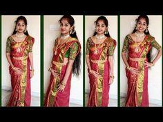 Saree Draping Styles, Saree Styles, Saree Wearing, Flower Rangoli, Blouse Designs Silk, India Beauty, Beauty Women, Sari, Unique