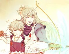 Fire Emblem Fates- Takumi and Kiragi
