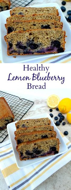 Sweet blueberries and zesty lemon come together in this Healthy Lemon Blueberry Cake for a delicious, lighter treat. Perfect for brunch or a snack!