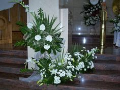 Visit the post for more. Church Flowers, Let's Get Married, Arte Floral, Ikebana, Flower Arrangements, Wedding Flowers, Bouquet, Rose, Plants