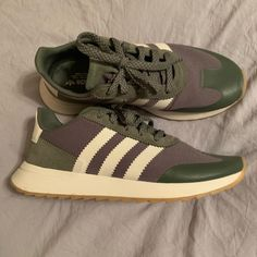 san francisco f6ffb 4a4b9 adidas Shoes   Olive Green Adidas Sneakers, Size 6.5   Color  Green   Size