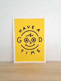 Good Times  Art Print A4 by Haasbroek on Etsy, $35.00