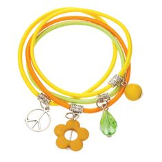 A Charmed Life Bracelet from Blossom Boutique by Evergreen Enterprises (www.myevergreen.com)