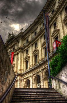Piazza Della Repubblica, Rome Lazio- been up these stairs a dozen times.