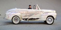 This 1948 Ford 'Greased Lightning' convertible from the movie 'Grease,' starring John Travolta and Olivia Newton John
