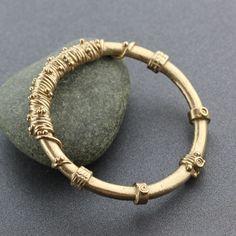Ancient Style Goldie Bronze Bracelet