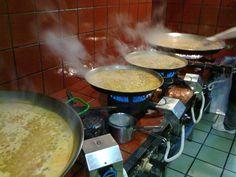 Arroces - RESTAURANTE MORNELL en el Palmar (Albufera). Arrocerías paellas