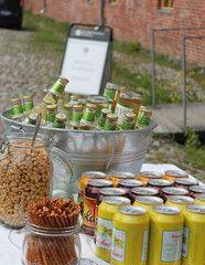 Juomatarjoilu ulkona @Myllysali, Suomenlinna