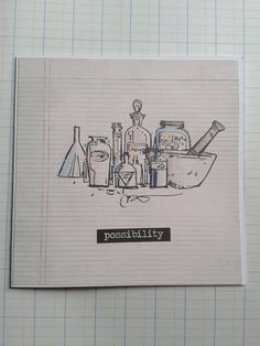 Possibility  Square Greeting Card  Science Chemistry by unusuality
